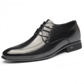 Lightweight Elevator Tuxedo Shoes Korean Business Formal Shoes Increase Taller 2.6inch / 6.5cm