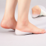 Hot Invisible Height Increase Socks Heel Pads Silicone Height Increasing Insoles Non-Slip Soft Shoes Inserts