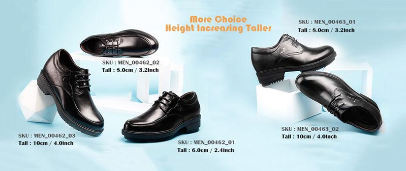 men height elevator dress formal shoes make you look taller 6cm,8cm,10cm
