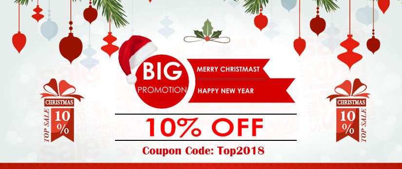 Topoutshoes 2018 Chistmas 10% off deals sales coupon code