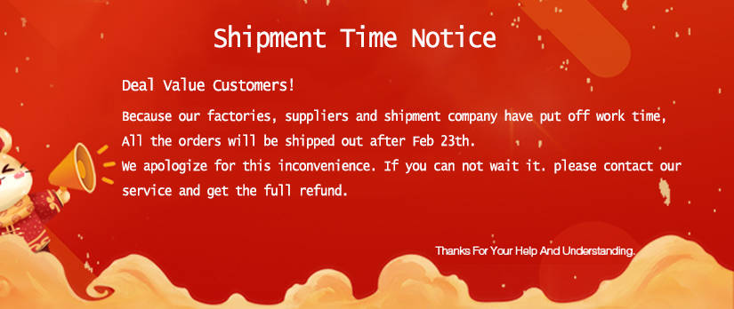 2020 TopoutShoes's Spring Festival Holiday Notice