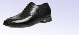 elevator formal dress shoes for business men  increase taller
