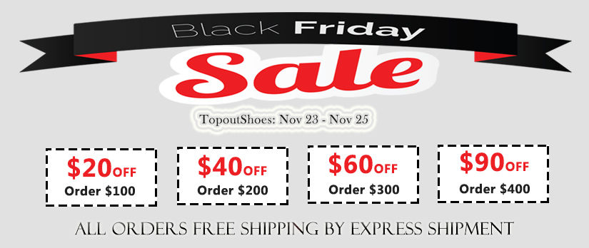 2017 TopoutShoes Black Friday Promotion Deals